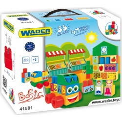 Конструктор пластиковий Wader Middle Blocks Basic